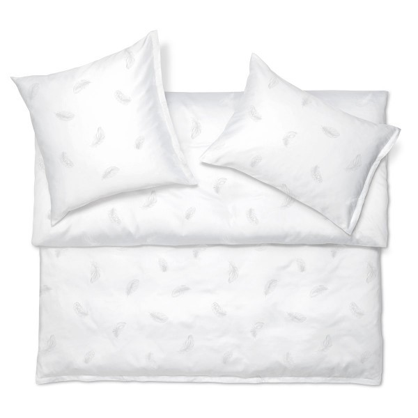 Plume Satin Exquisite Jacquard bed linen from Schlossberg