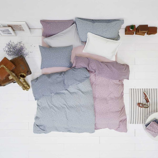 Play Silver YU! Bed linen from Schlossberg