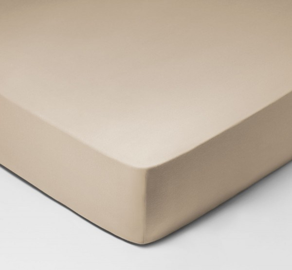 Jersey Royal fitted sheet for box spring mattresses from Schlossberg
