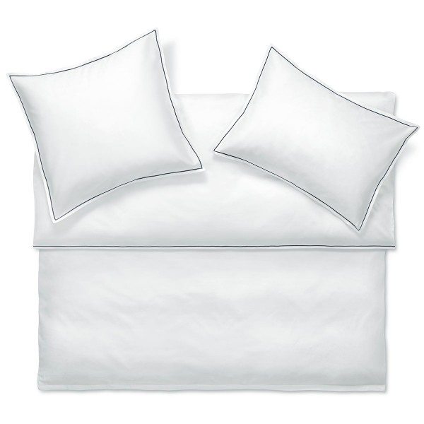 Evans Ardoise Satin bed linen from Schlossberg